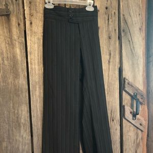 Pinstriped dress/work pants great condition